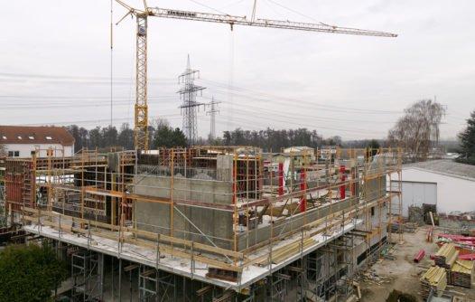 Errichtung des dritten Bauabschnitt / Bau C, 2007 - 2008