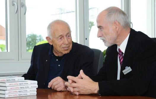 Dr. Heiner Geißler und Wolfgang Glasstetter, 2012