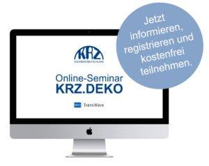 KRZ.DEKO Online-Seminare