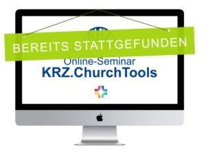 KRZ-SWD Online-Seminare zu KRZ.ChurchTools