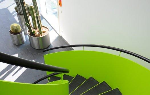 KRZ-SWD Eingang Bau C Treppe